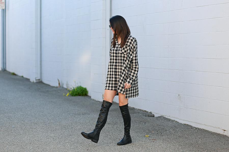 Windsor tunic, Steve Madden boots