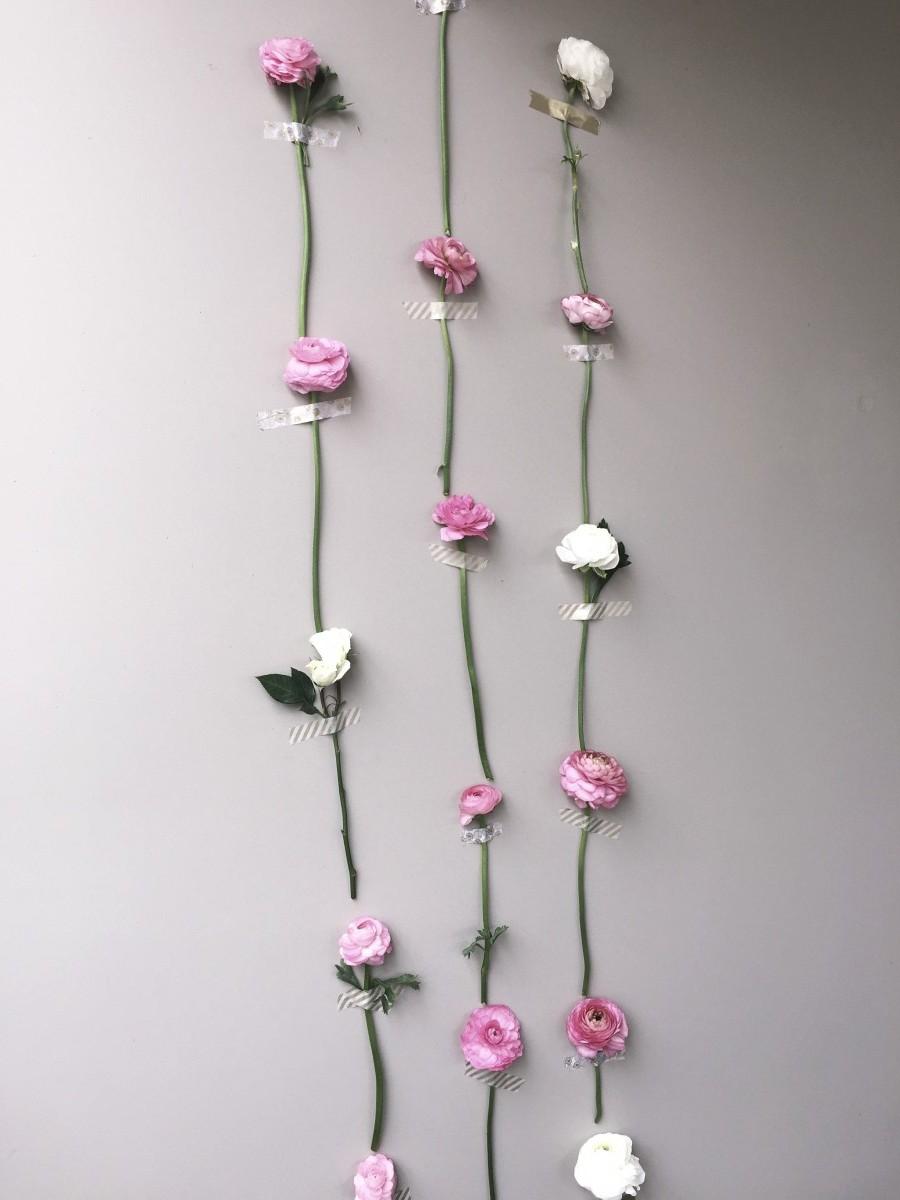 Bridal Shower Flower Wall 3