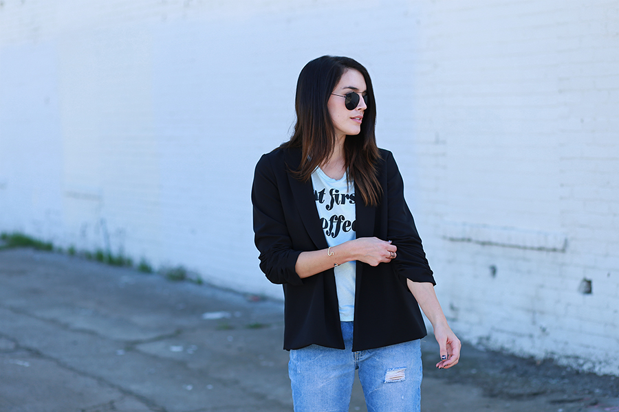 jaleh clothing blazer