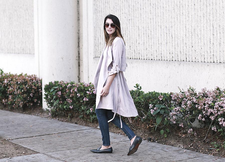 blush ashley b jacket dstld denim mango loafers 8