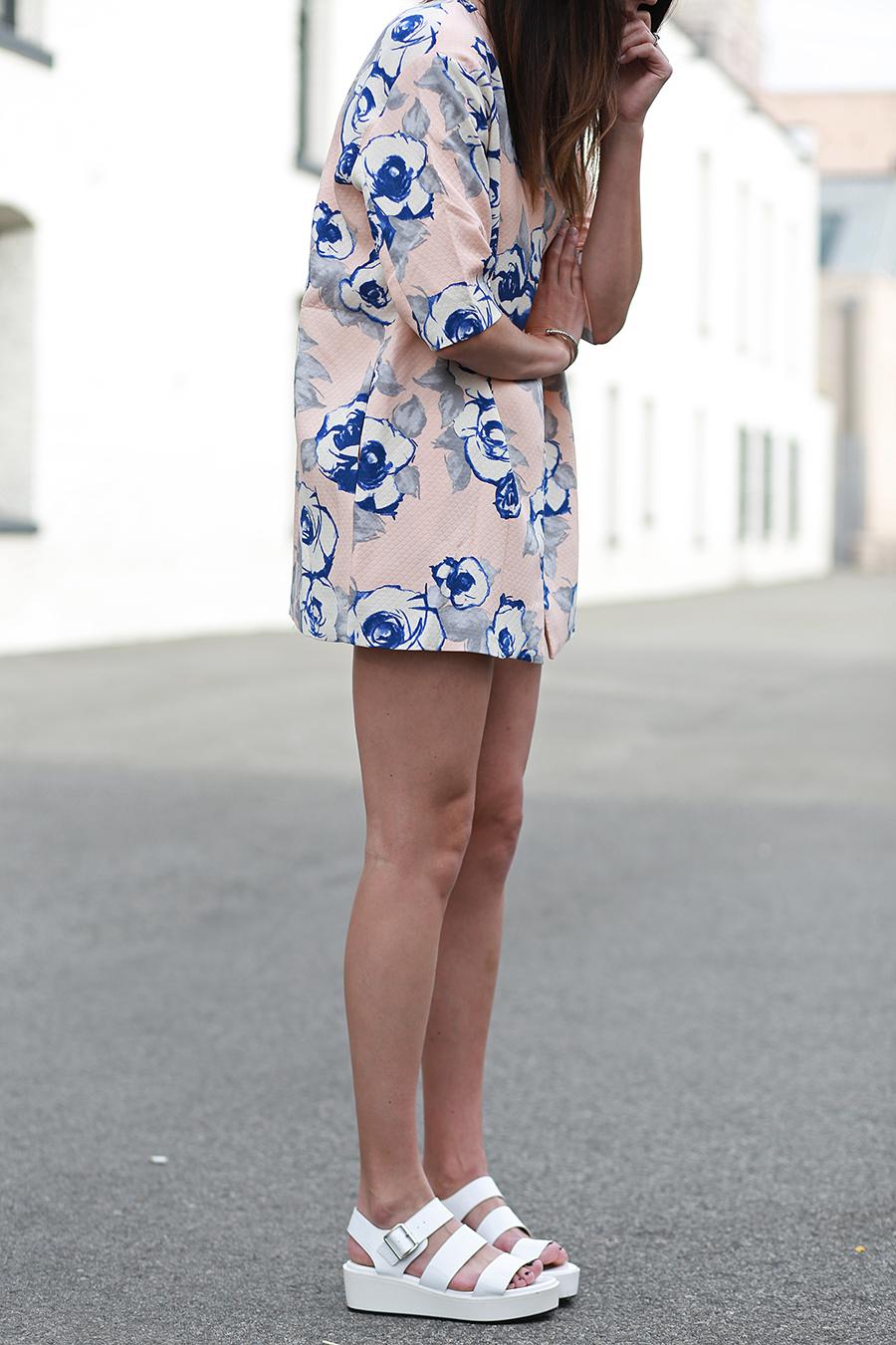 floral jacket forever21 flatforms
