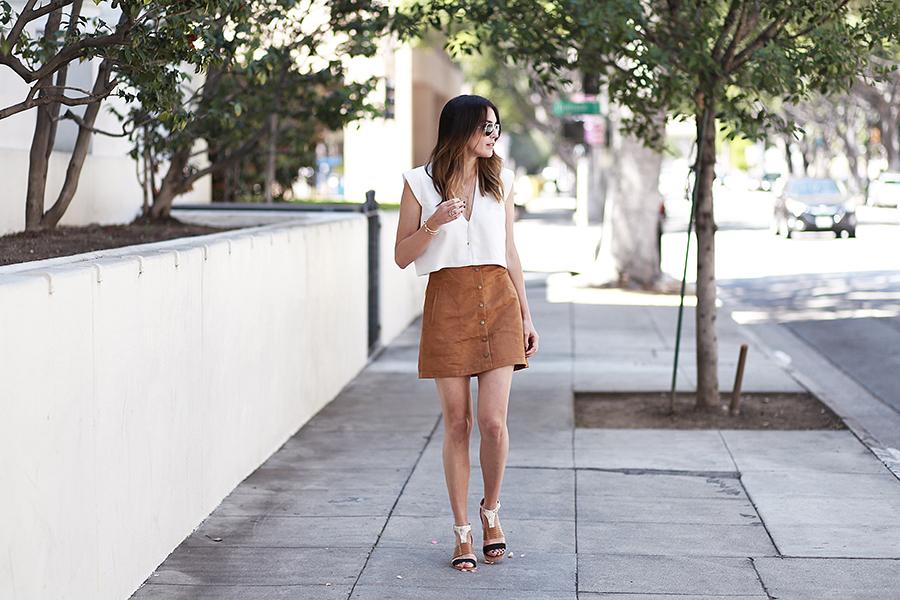 aldo heels suede skirt 3