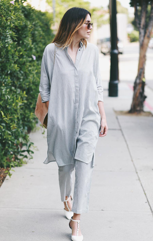 ganni blouse shirt and bag 5
