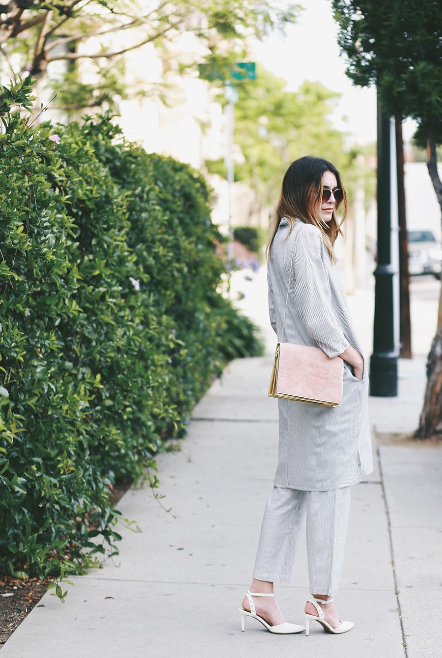 ganni blouse shirt and bag 6