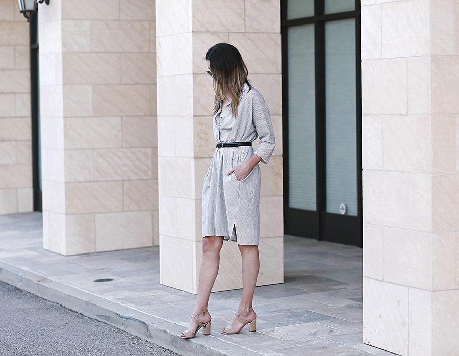 chloe sandals ganni dress 1