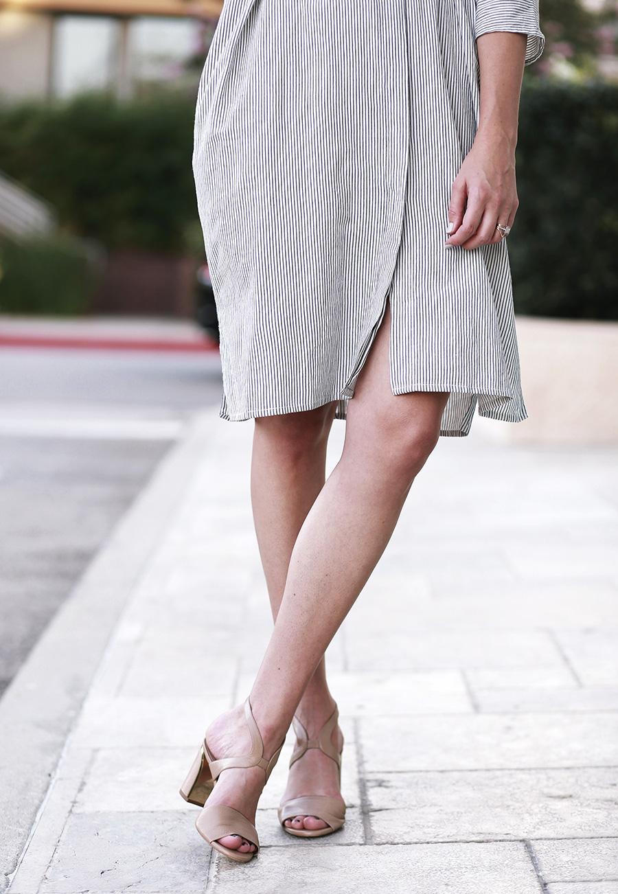 chloe sandals ganni dress 3