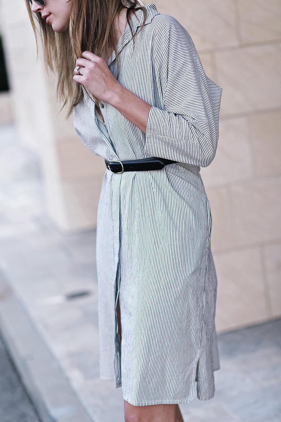chloe sandals ganni dress 5