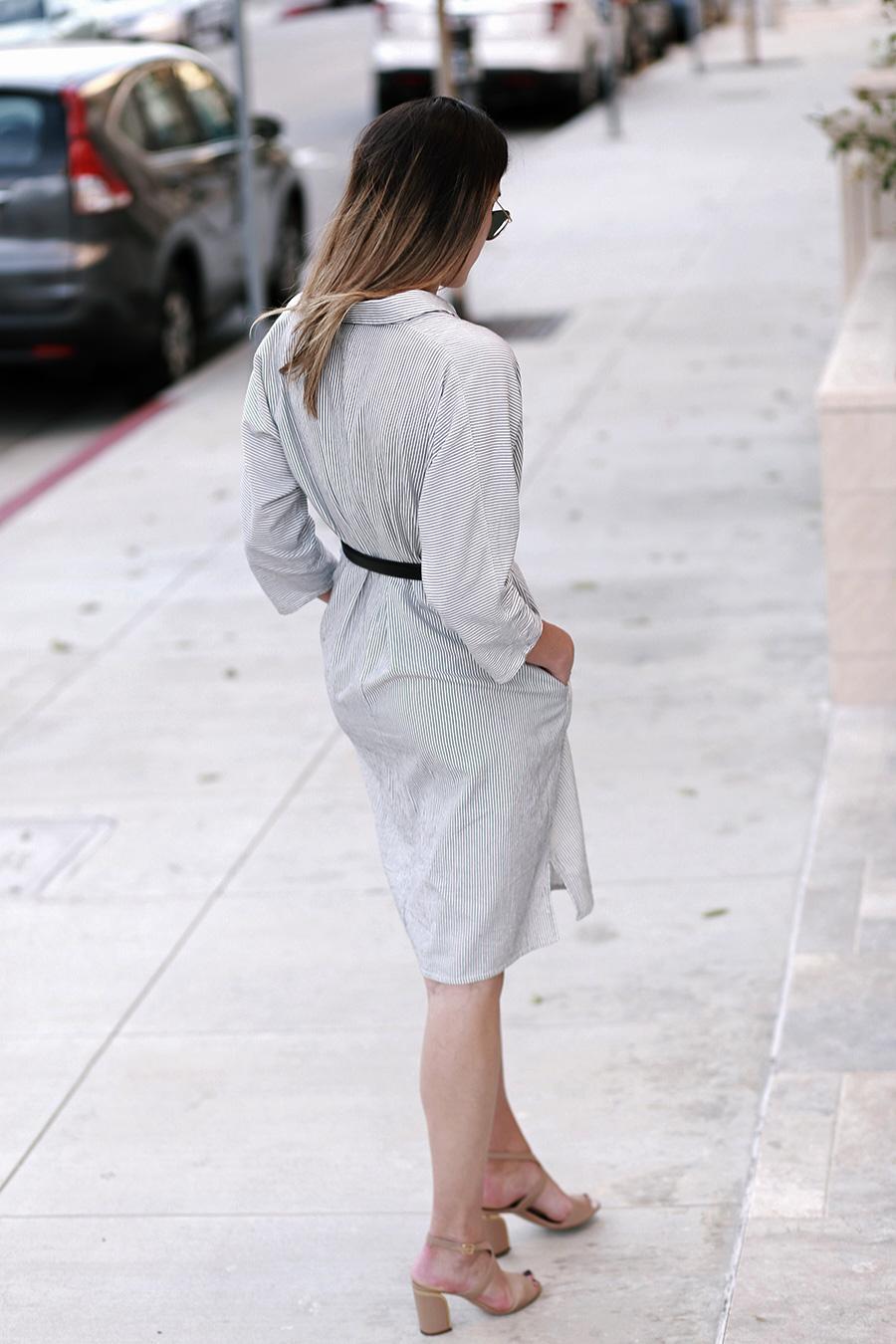 chloe sandals ganni dress 7