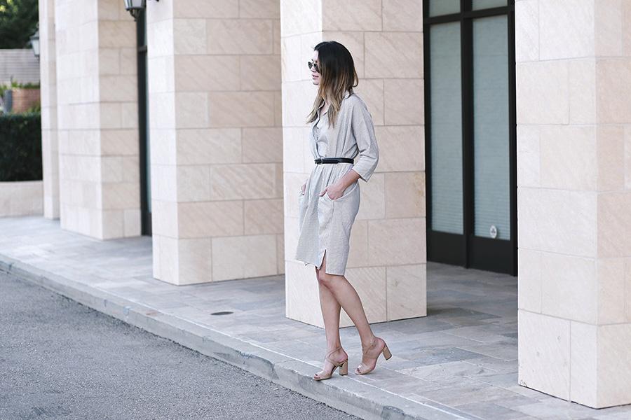 chloe sandals ganni dress 8