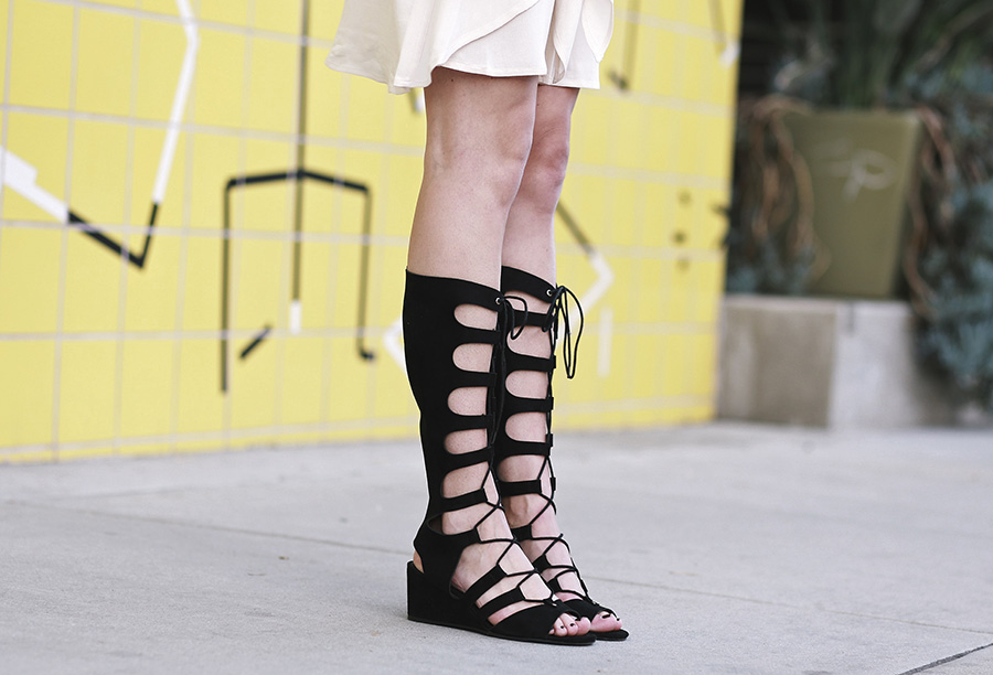 forever21 wrap dress forever21 black gladiator sandals 6