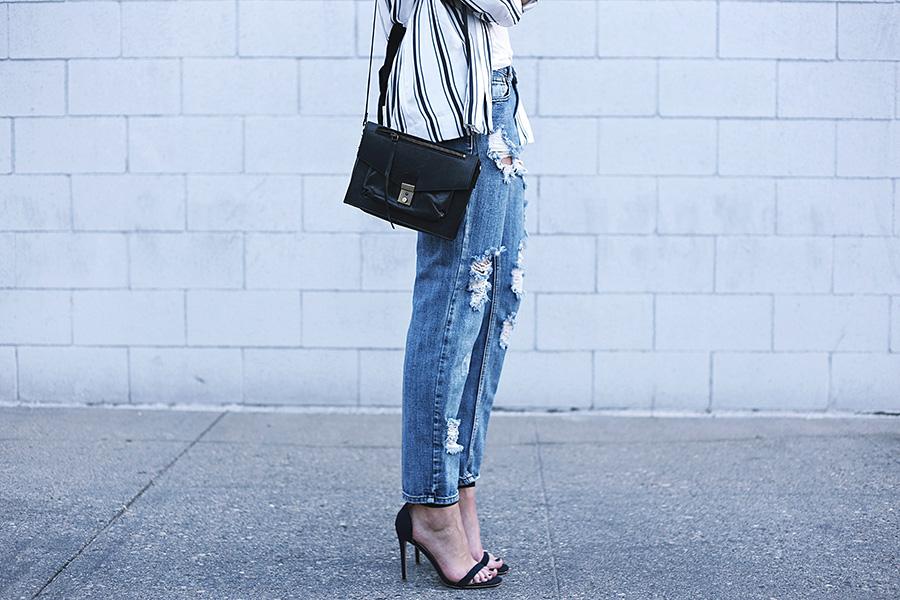 hm blazer missguided black heels asos handbag quay australia sunglasses 4