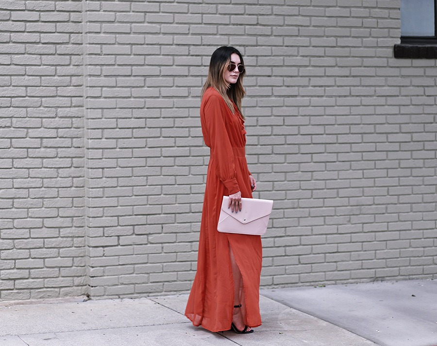 missguided dress heels clutch 2