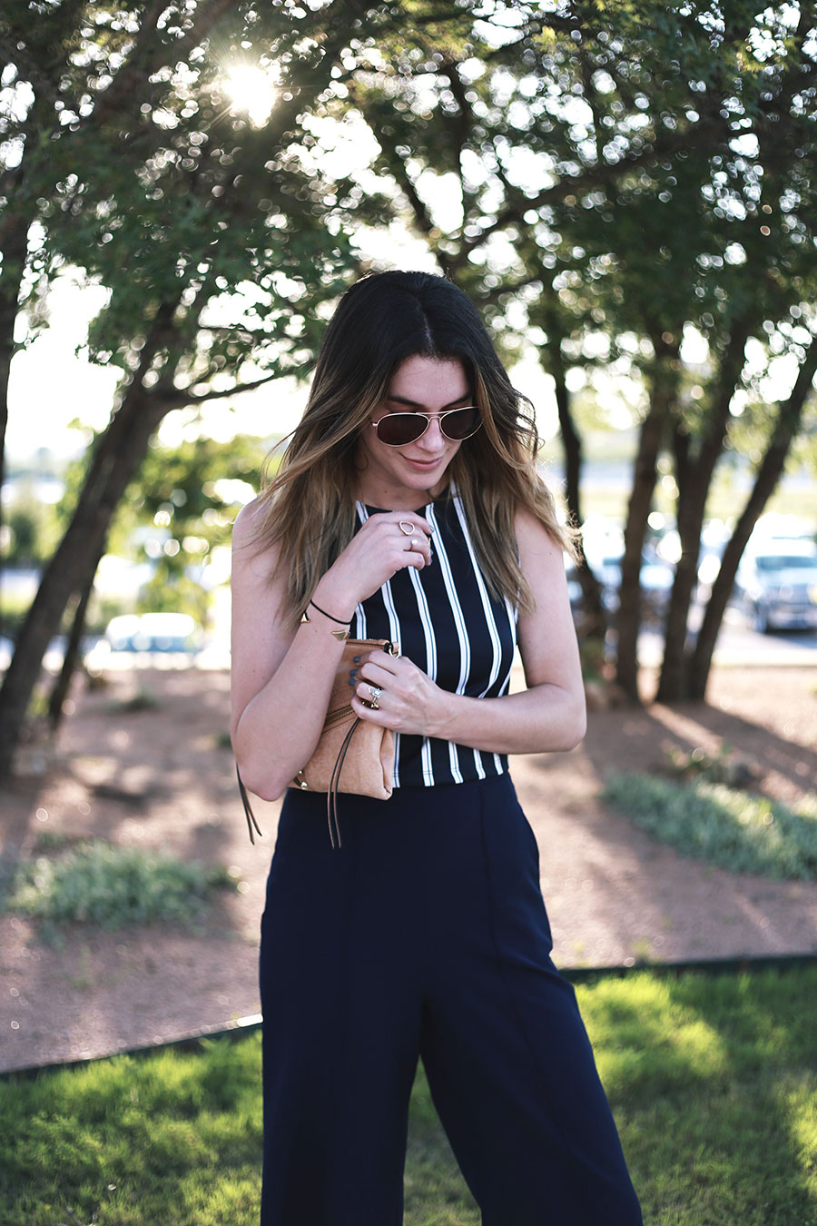 navy culottes aldo sandals forever21 tank top 4