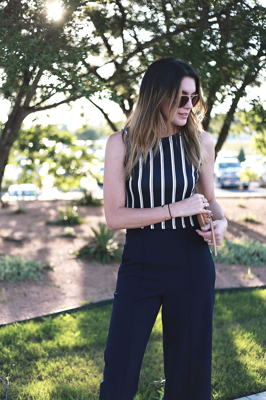 navy culottes aldo sandals forever21 tank top 5