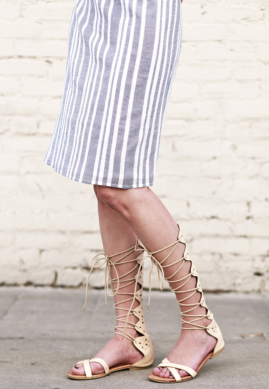 tularosa dress pixie market gladiator sandals 1