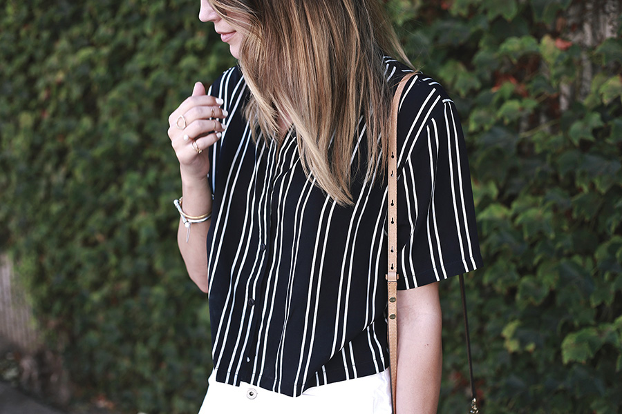 Boohoo Striped Shirt