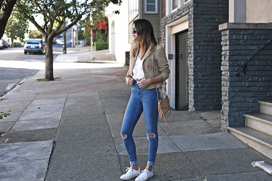 San Francisco ASOS Ripped jeans Sneakers SF