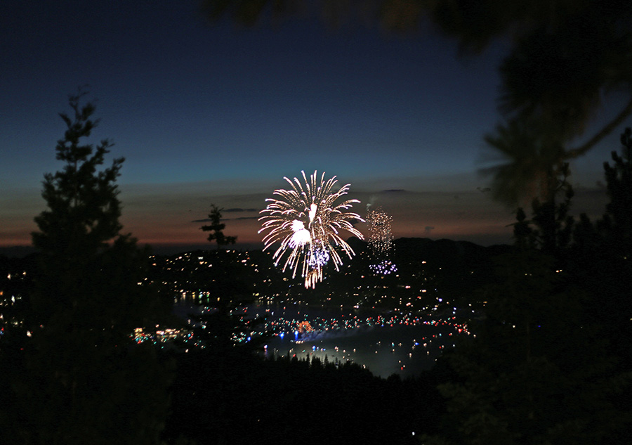lake arrowhead 4th of july 2