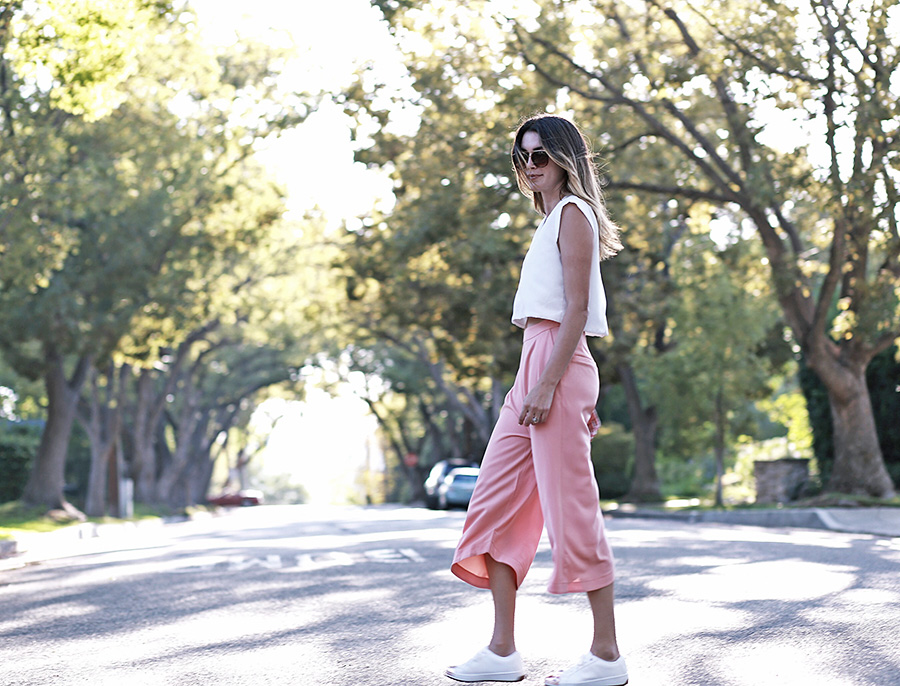 Culottes Aldo Rose Gold Sneakers