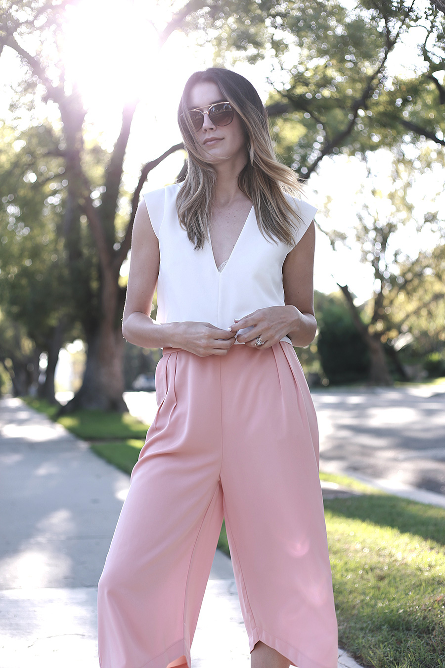 Culottes Aldo Rose Gold Sneakers 1