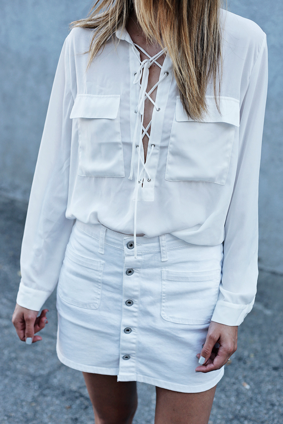 Forever 21 lace up blouse nicholas kirkwood loafers the real real 4