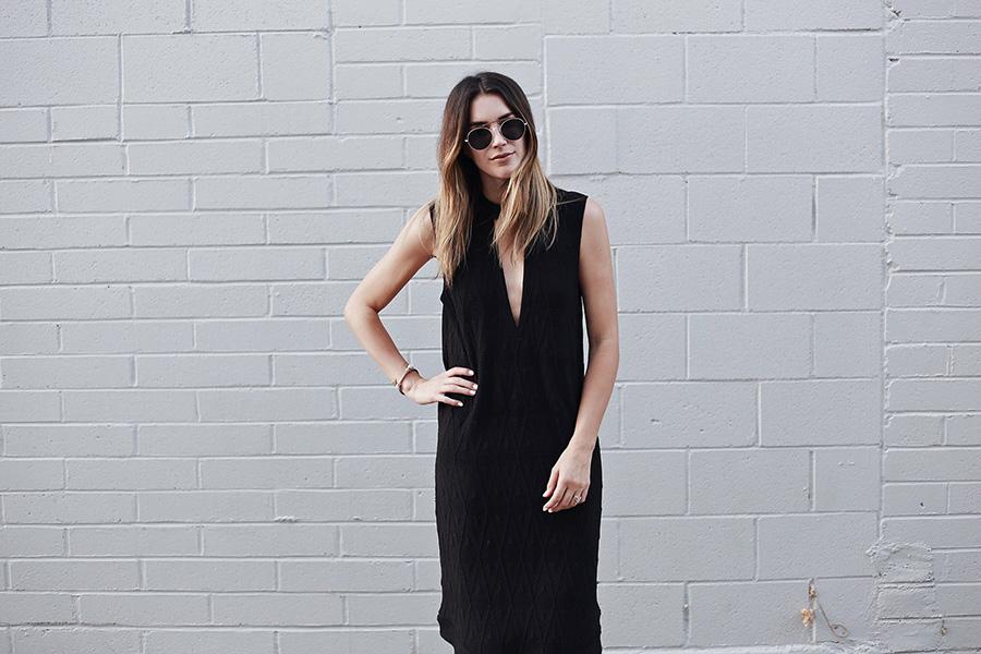 Thrifts and Threads Brittany Xavier Ganni Jersey Dress