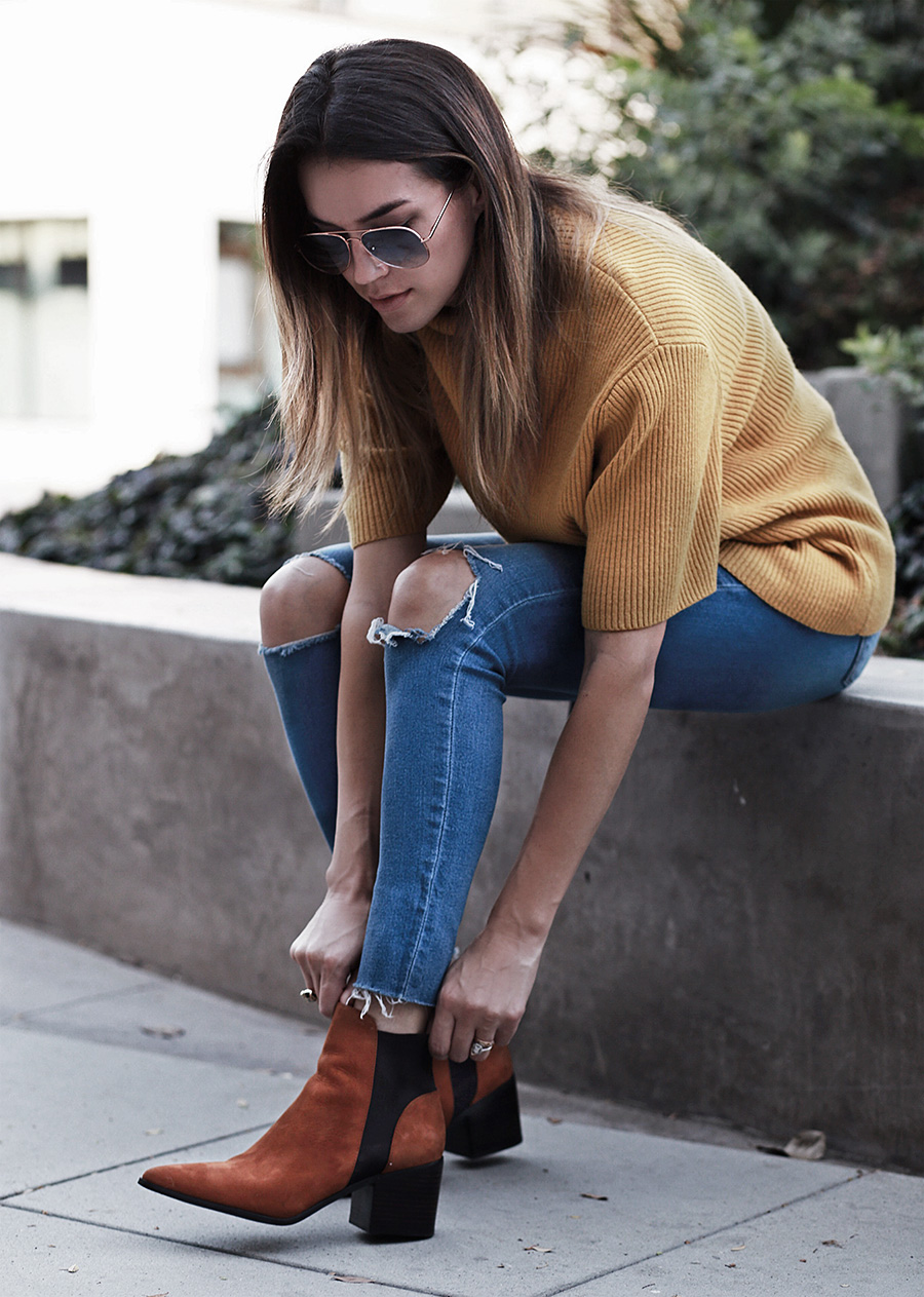 Ankle Booties Tan
