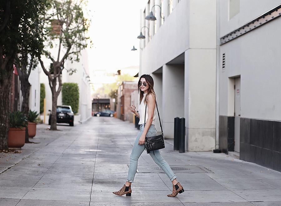 Botkier Crossbody Handbag Levis 721 Skinny Jeans