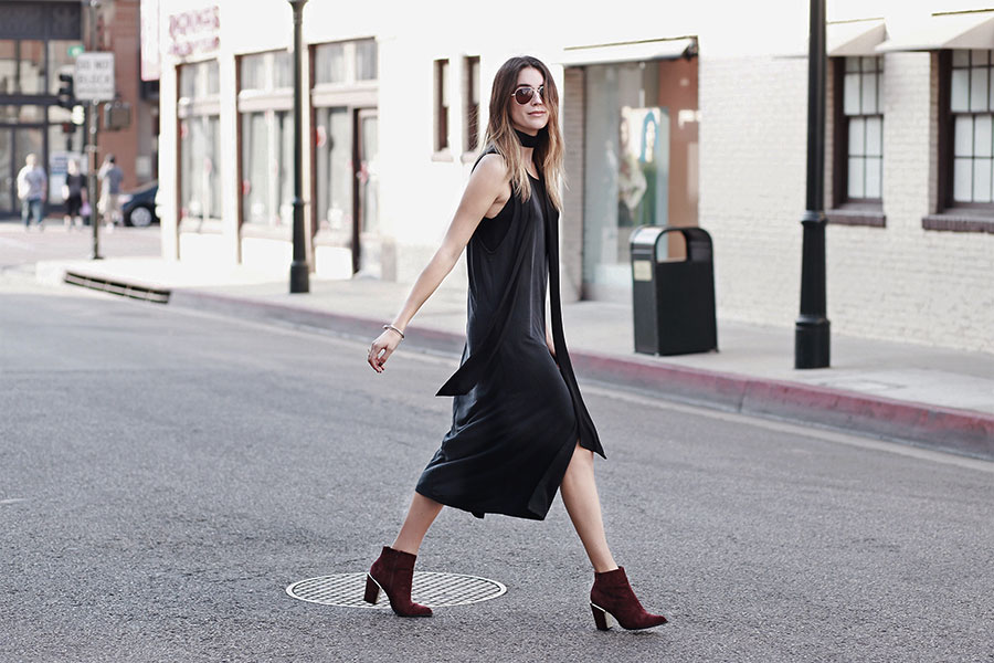 Forever 21 Layered Dress Ankle Booties