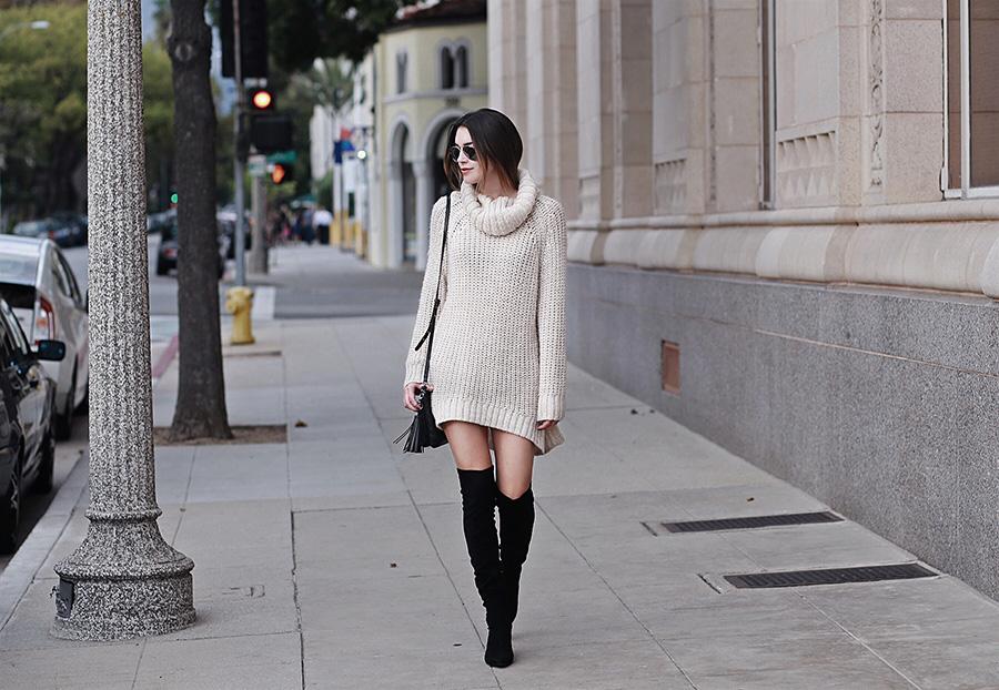 Sweater Dress Brittany Xavier