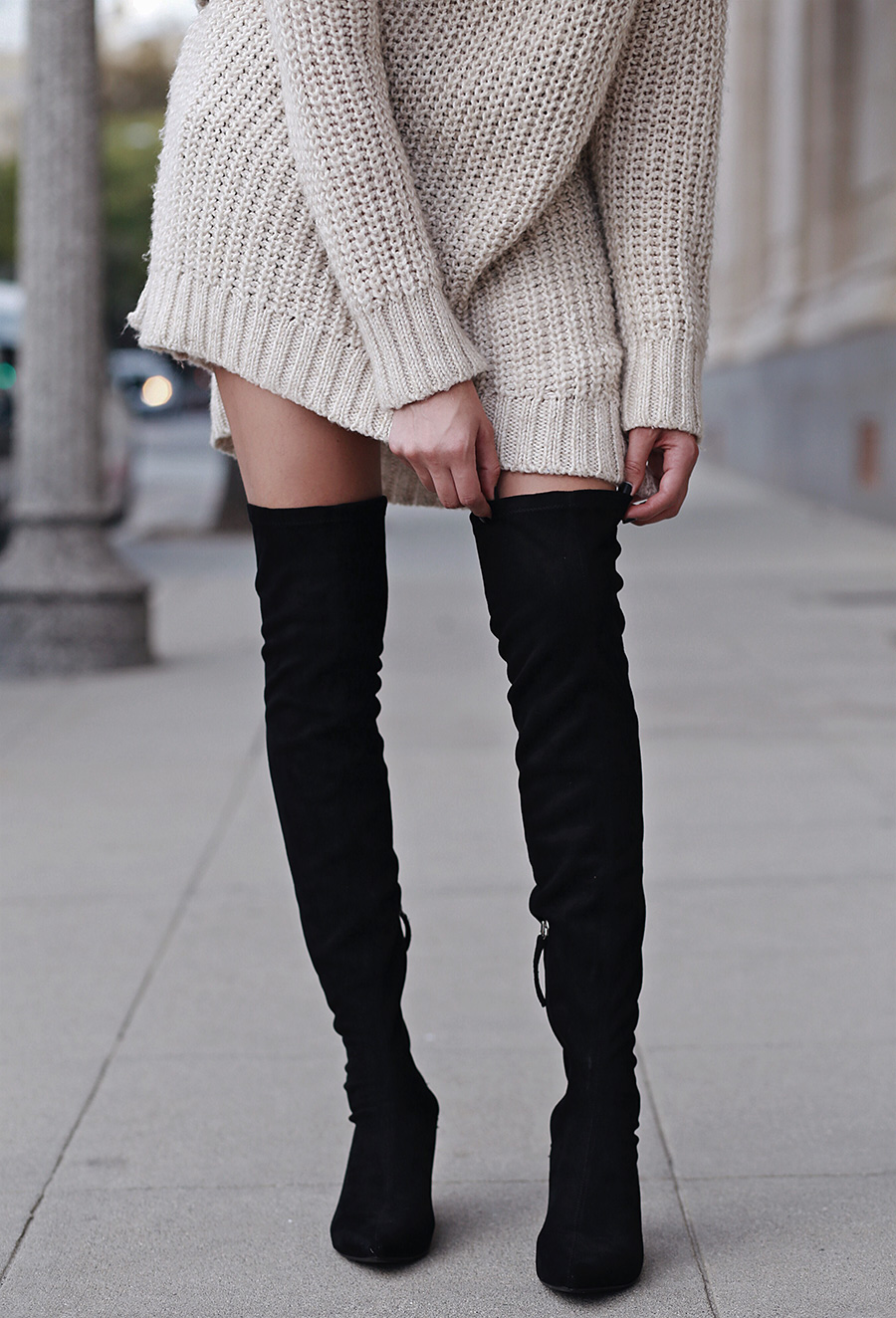 Zara over the Knee boots