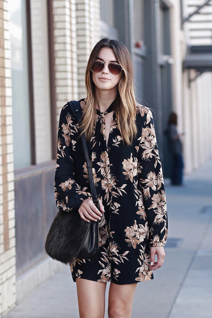 Fall Floras Shearling Bag