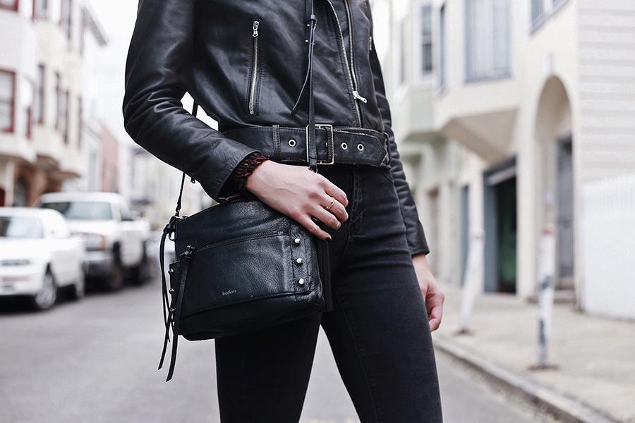 brittanyxavier.com Black Moto Jacket