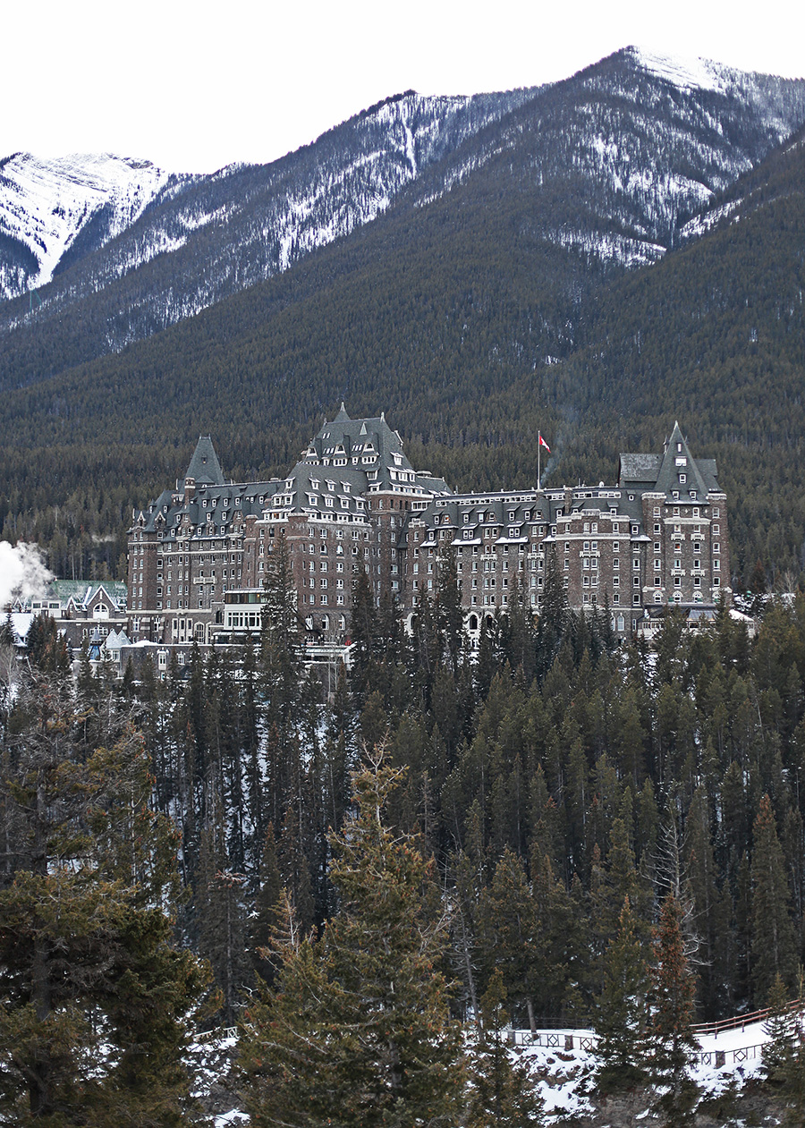 Fairmont Banff Springs Castle in the Rockies