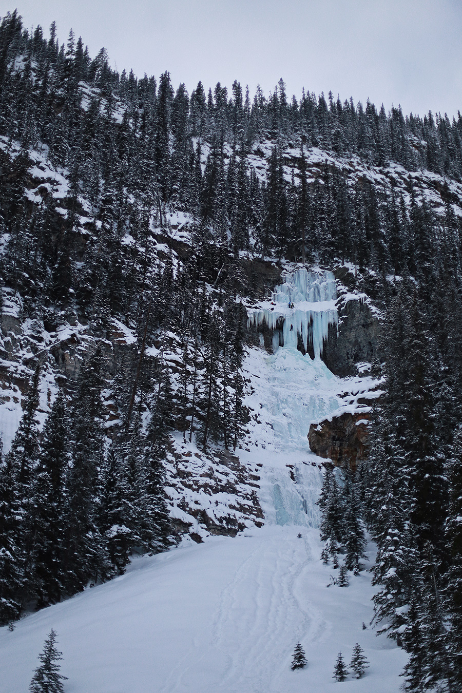 Ice Waterfalls Banff National Park