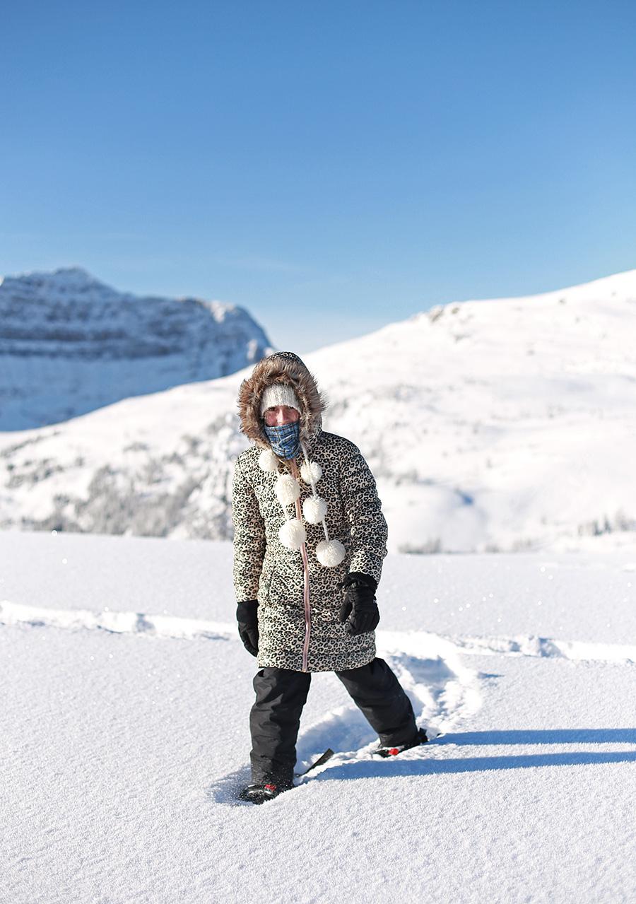 Kids Snowshoeing
