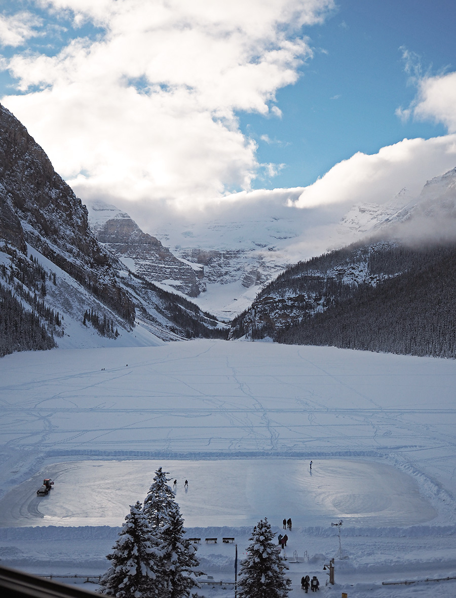 Lake Louise Ice Skating Rink
