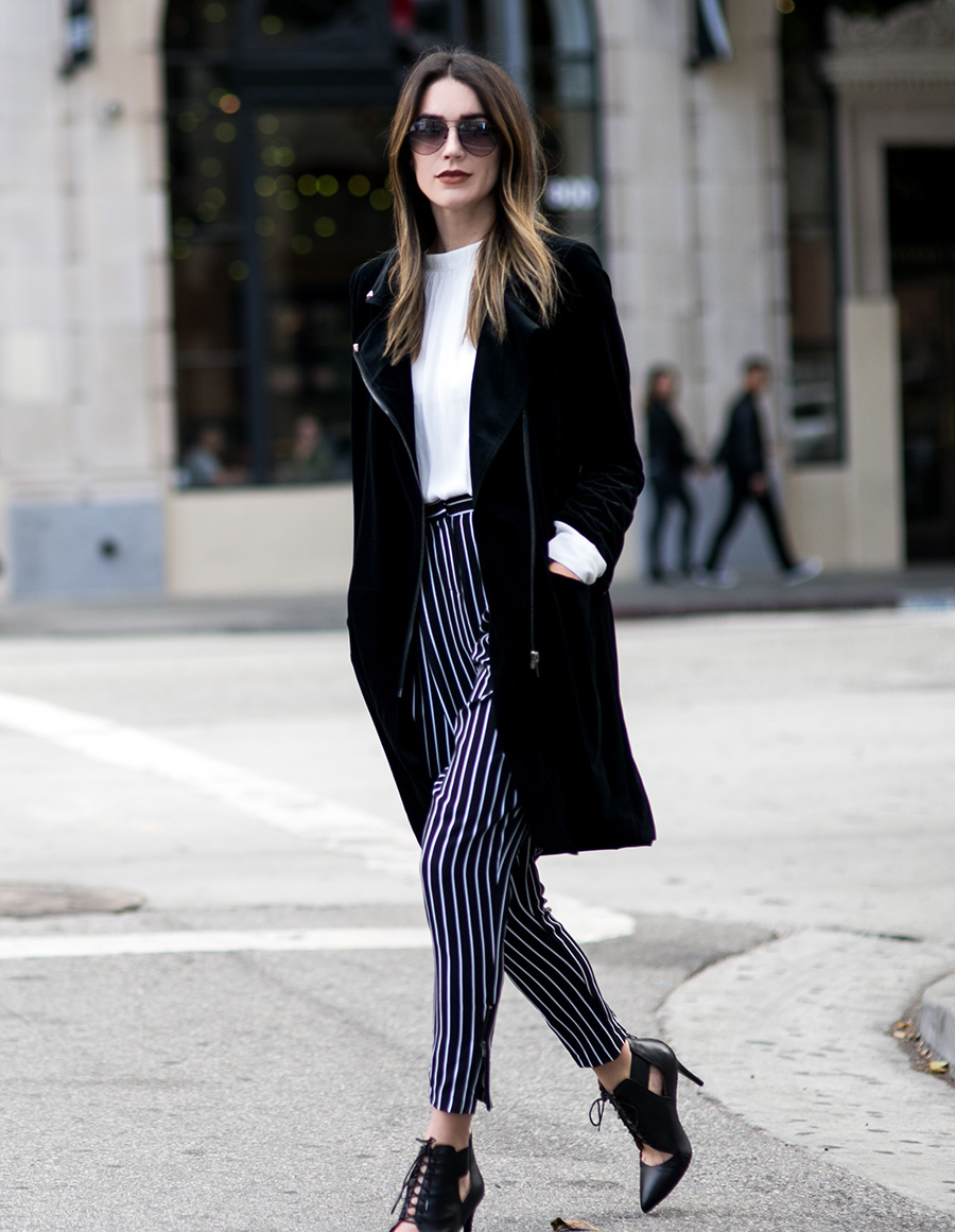 Monochrome Black and White Look