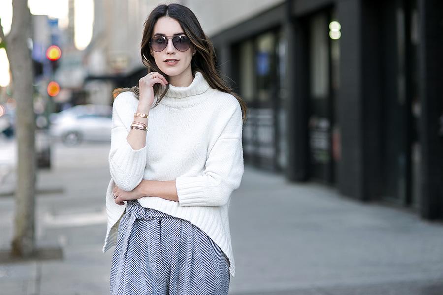 Roll Neck Sweater brittanyxavier.com