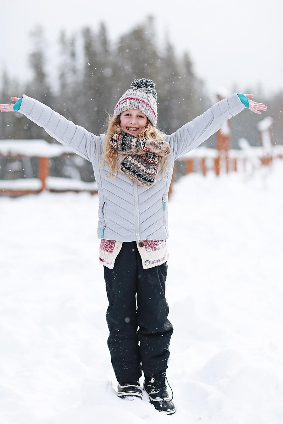 Snow Banff Canada