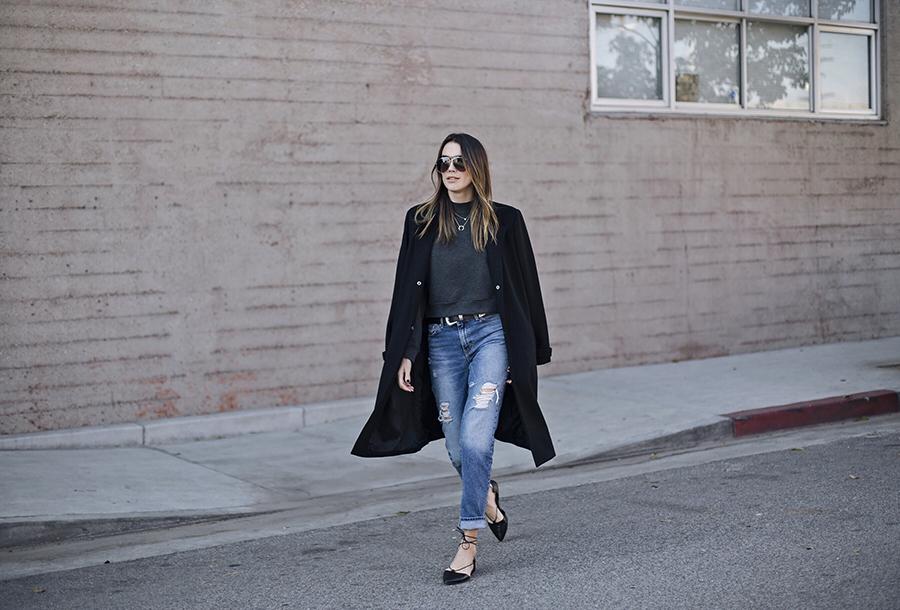 Slim Fit Boyfriend Jeans Blogger Style