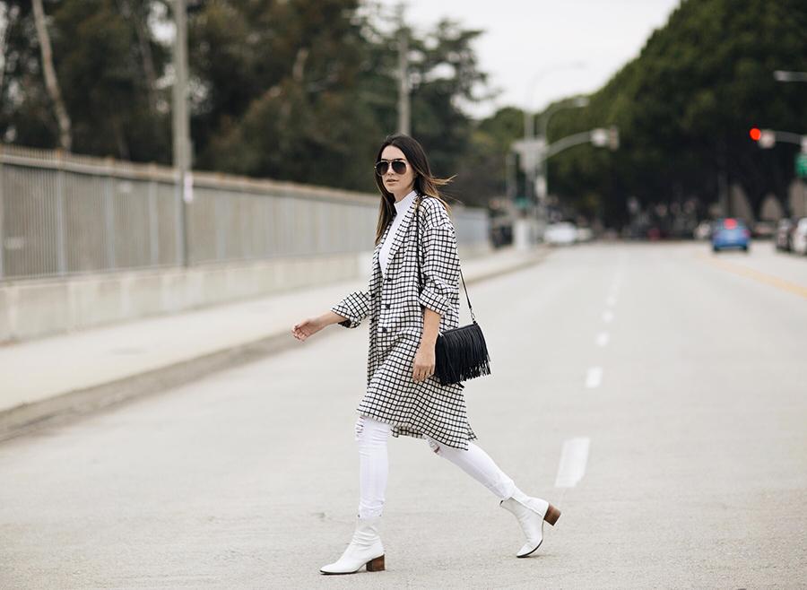 Street Style White Look