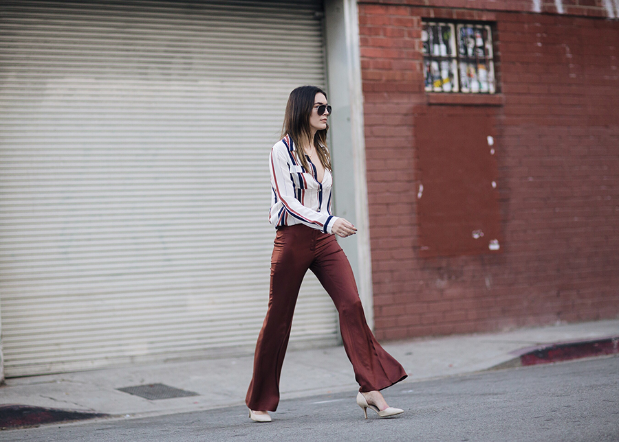 Wide Leg Trousers Blogger