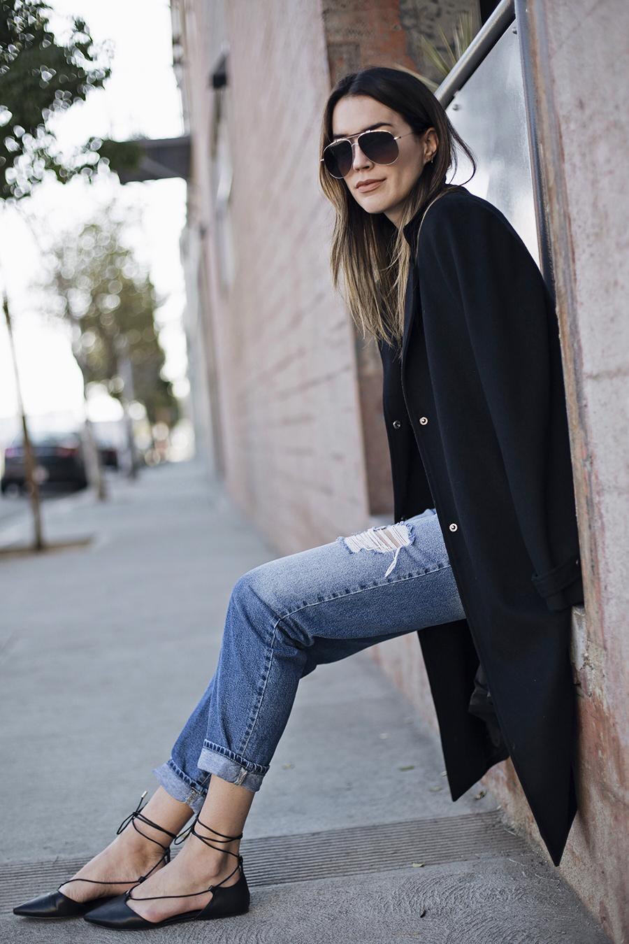 Slim Fit Boyfriend Jeans | Thrifts and Threads