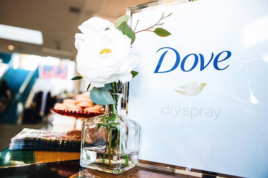 Dove Dry Spray Event Recap