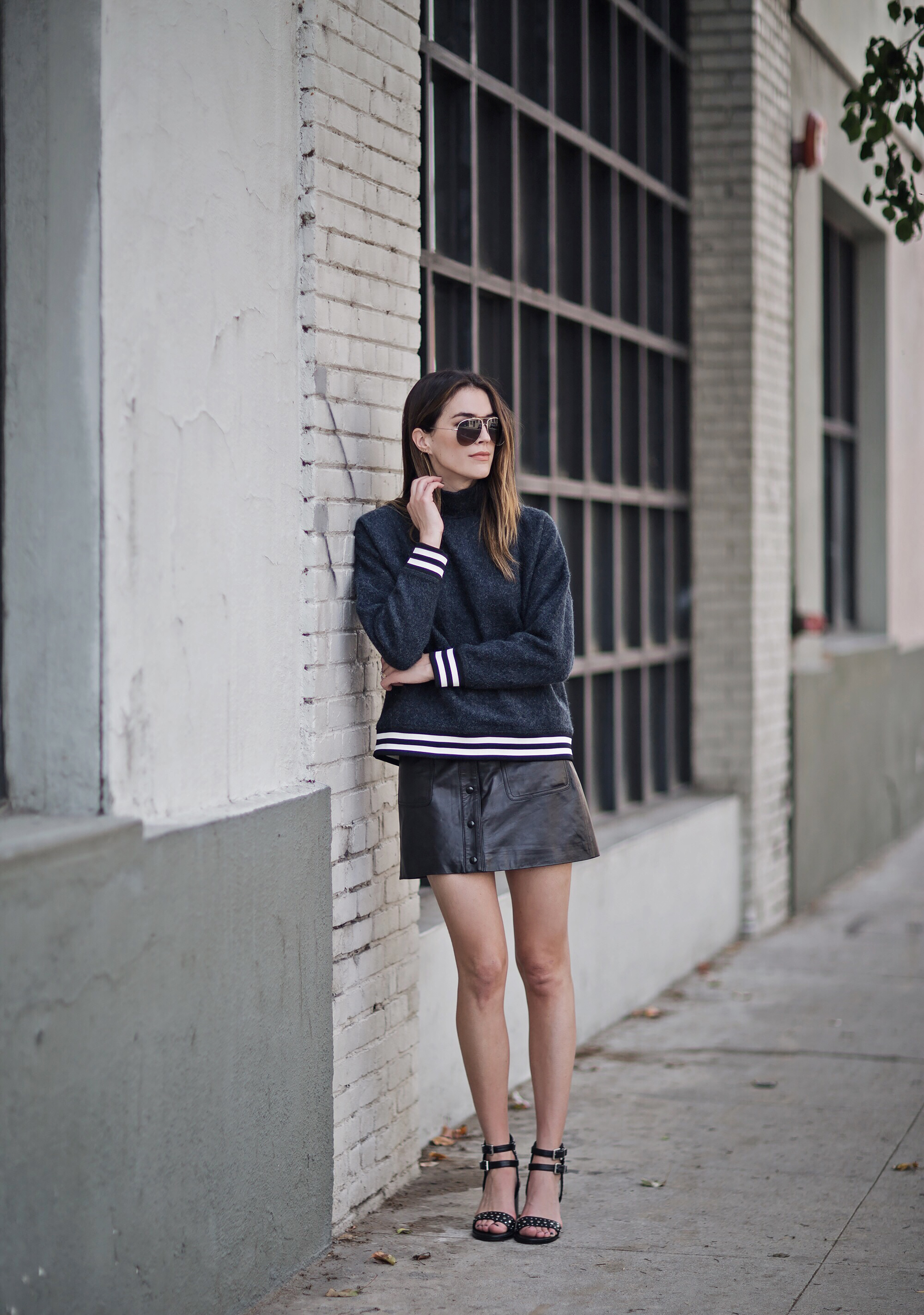 Ganni Street Style Sweater