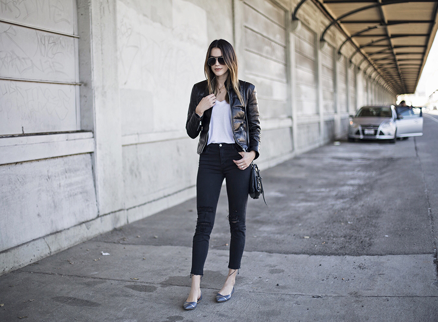 Street Style Leather Jacket