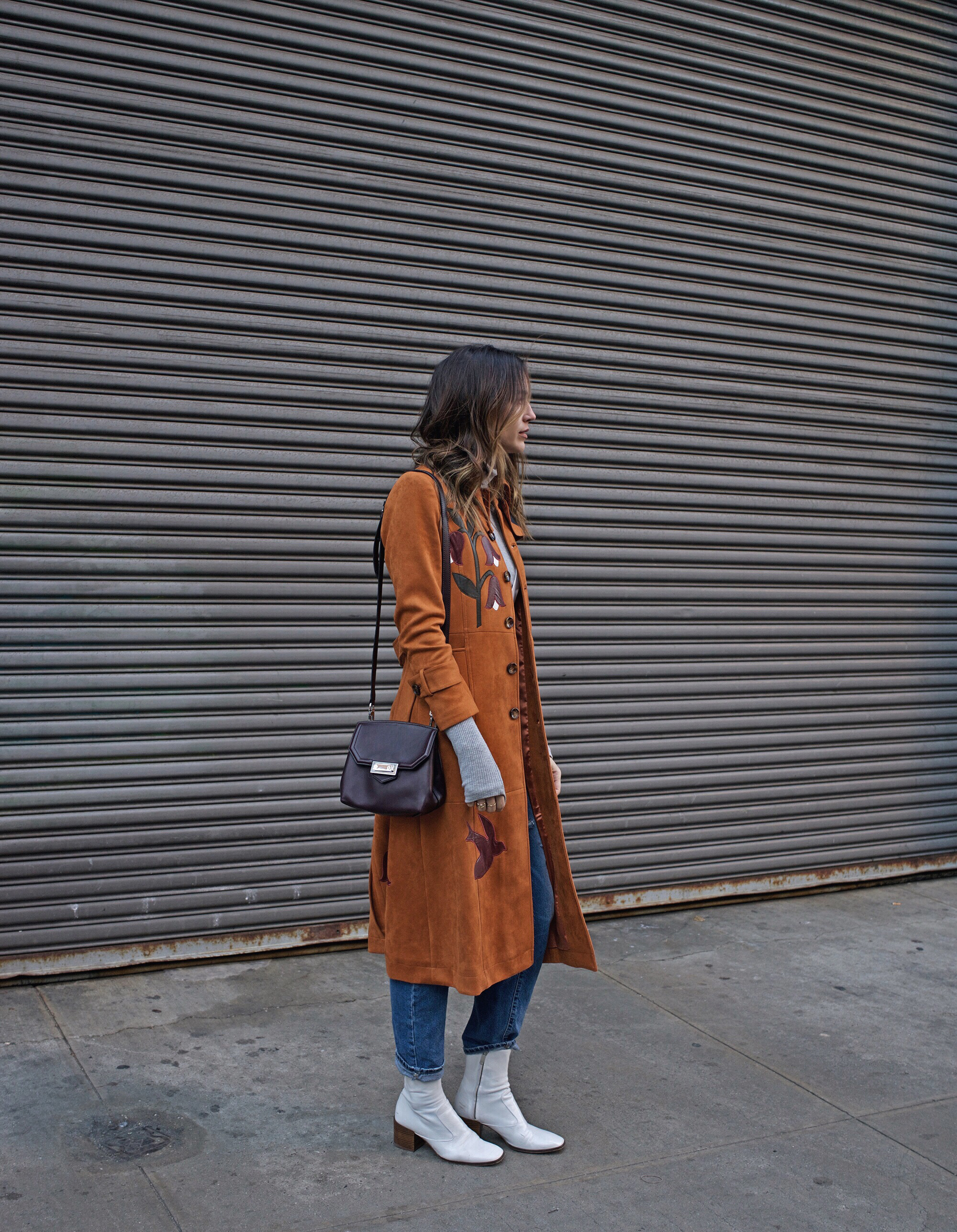 New York Fashion Week Statement Coat