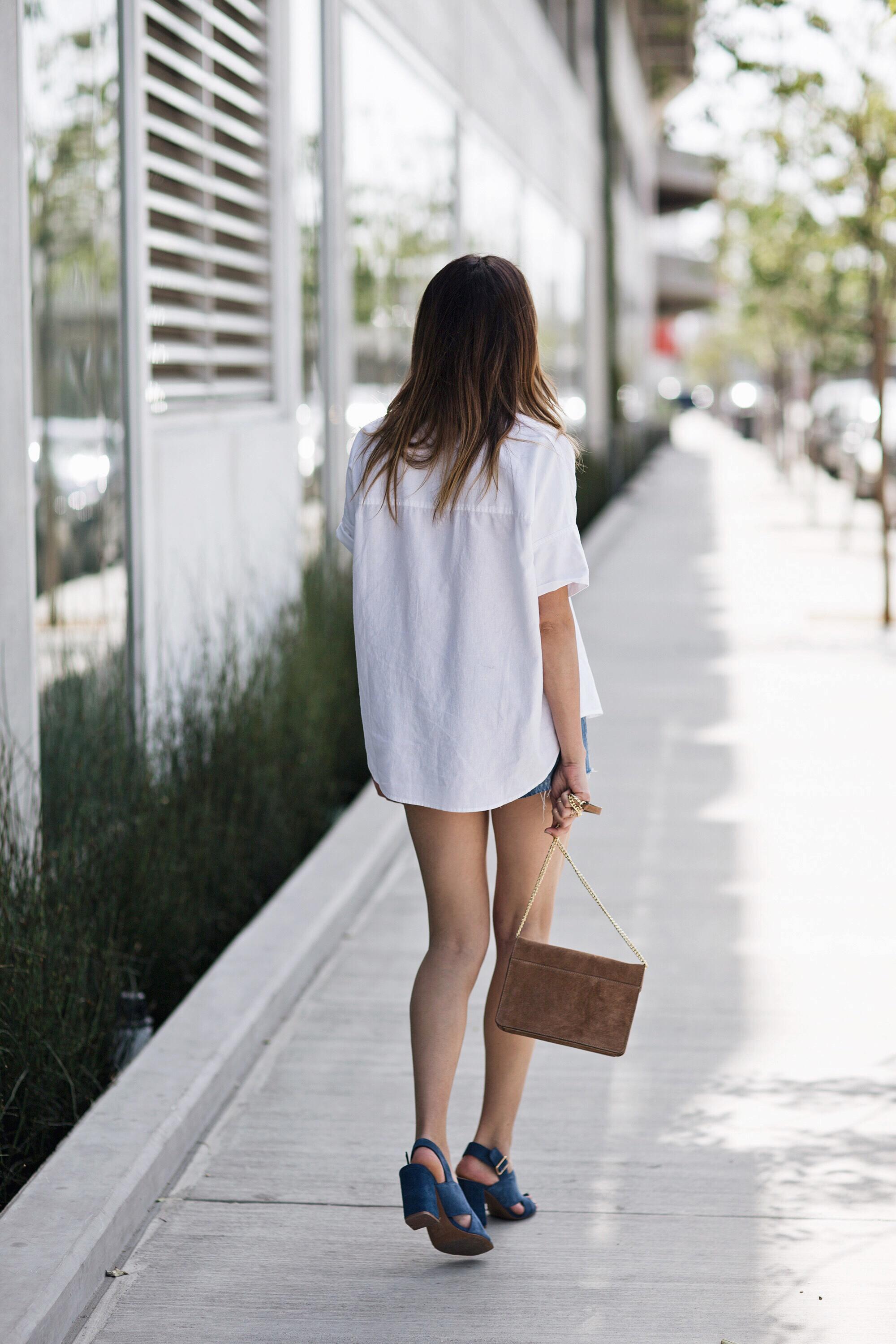 Madewell White Shirt