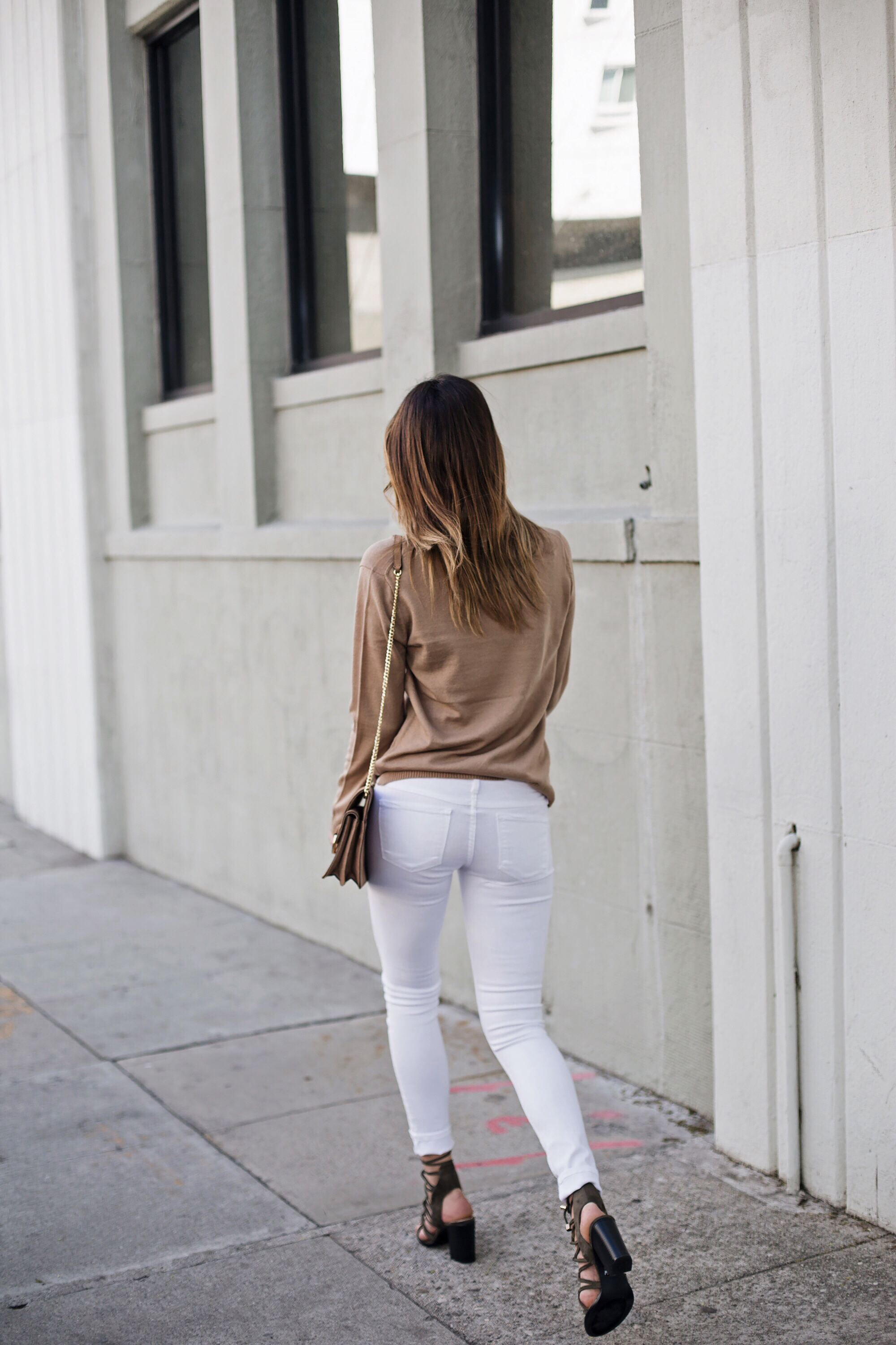 No Rest for Bridget White Jeans